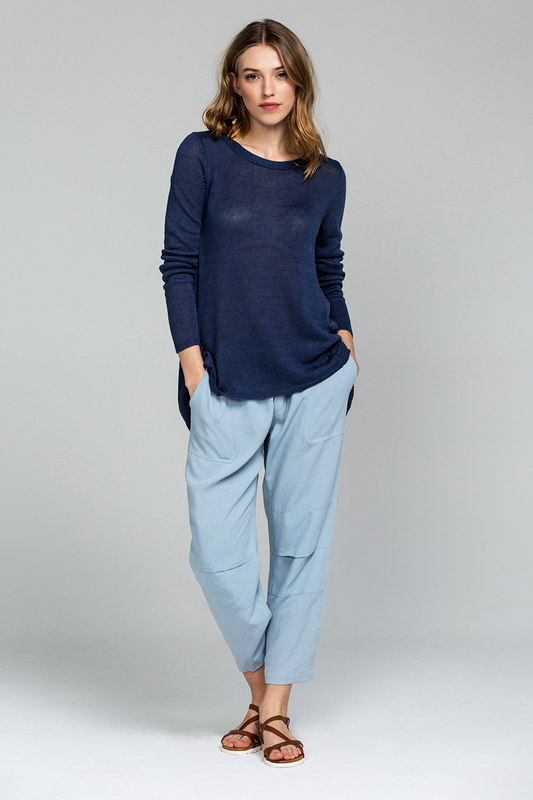 Washed Linen Knit